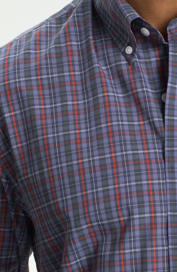 Alternate Image 3  - Cutter & Buck 'Kent Plaid' Regular Fit Sport Shirt (Big & Tall)