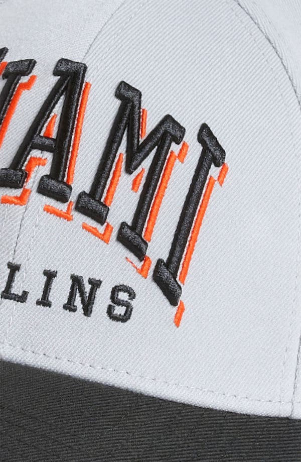 Alternate Image 3  - New Era Cap 'Miami Marlins - Arch Mark' Fitted Baseball Cap