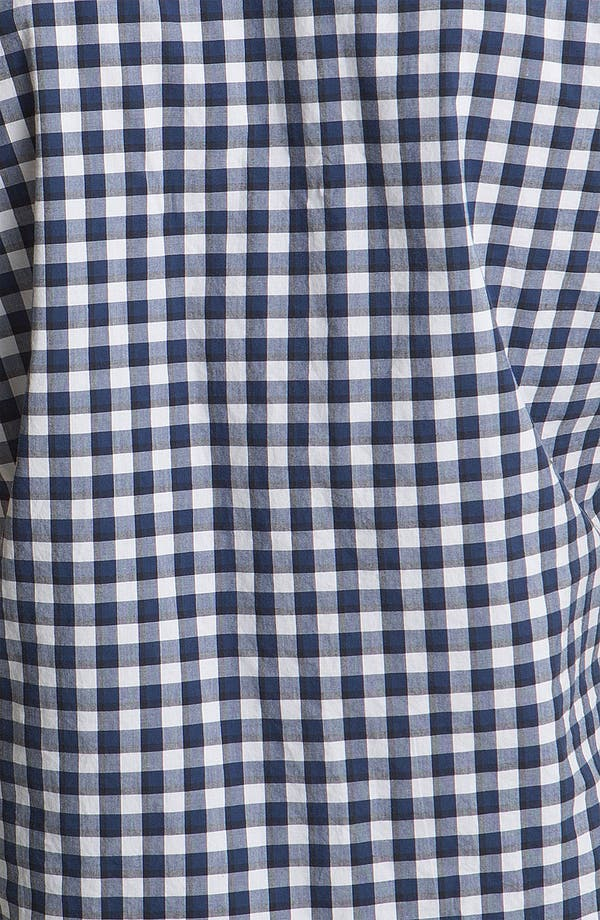 Alternate Image 3  - Lacoste Gingham Check Woven Shirt