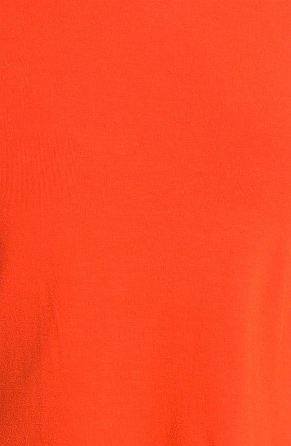 Alternate Image 3  - Vince Camuto Three Quarter Sleeve Peplum Top (Petite)