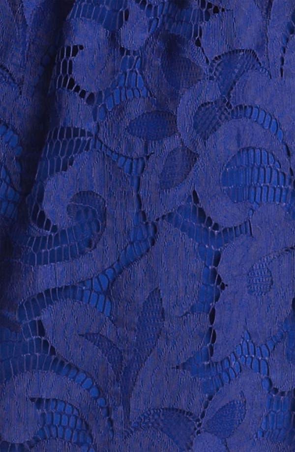 Alternate Image 3  - Milly Lace Blouson Minidress