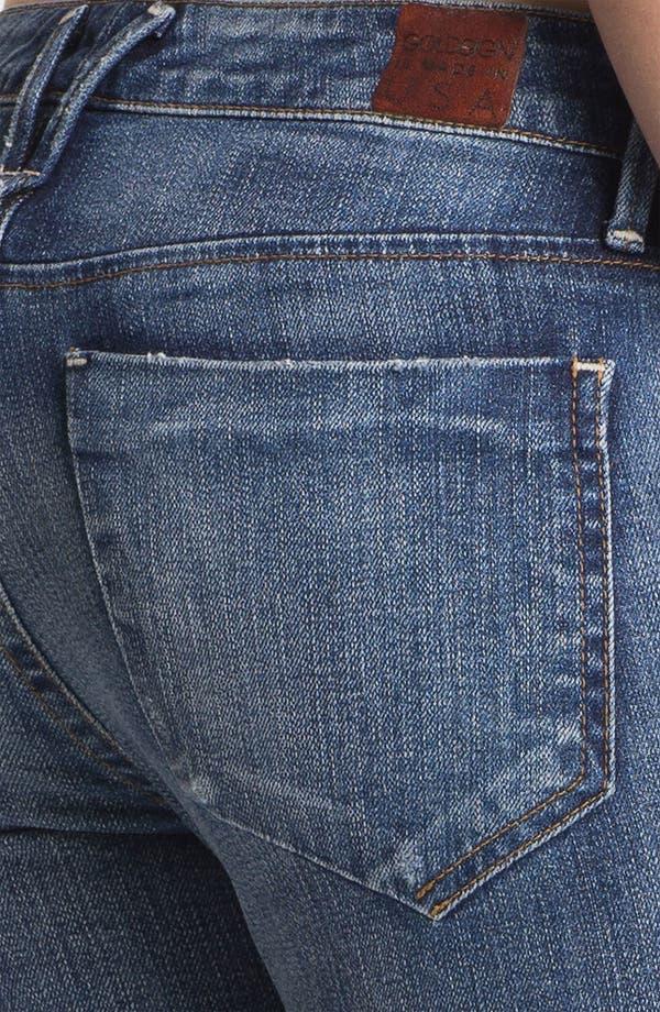 Alternate Image 3  - Goldsign 'Gracie' Crop Skinny Stretch Jeans (Glam)