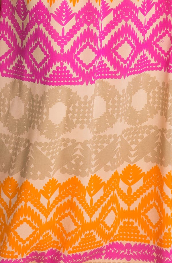 Alternate Image 3  - Trina Turk 'Anargosa' Stretch Silk Maxi Dress