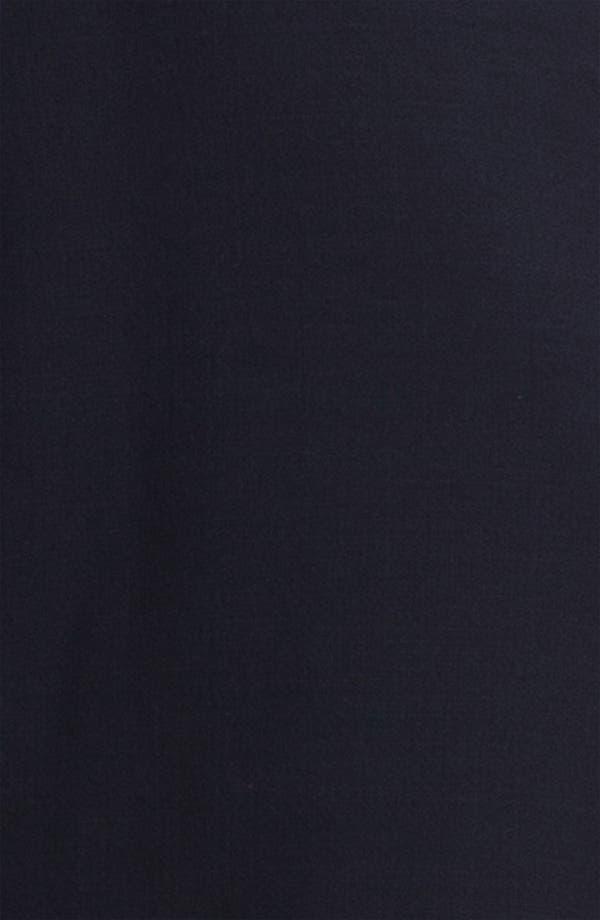 'Walsh' Wool Blend A-Line Dress,                             Alternate thumbnail 3, color,                             Medium Navy