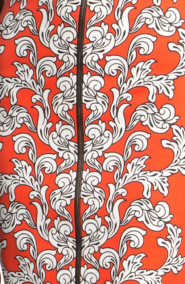 Alternate Image 3  - Robert Rodriguez Medallion Scroll Print Sheath Dress