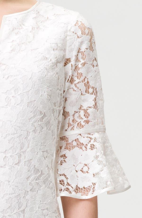 Alternate Image 3  - Adrianna Papell Ruffle Sleeve Lace Dress