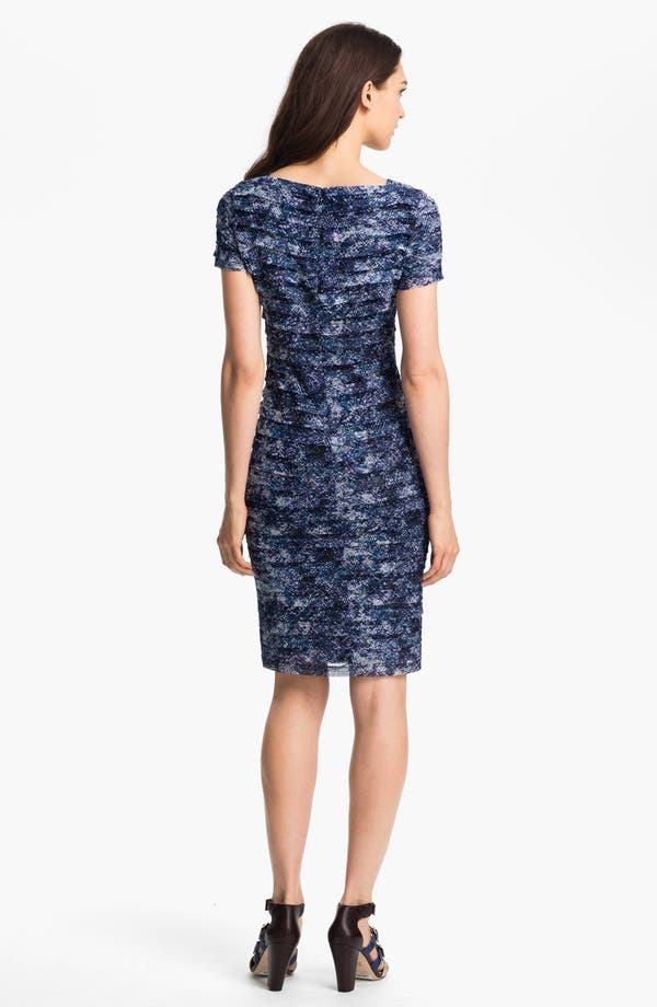 Alternate Image 2  - Adrianna Papell Print Sheath Dress (Petite)