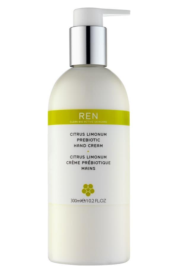 Alternate Image 1 Selected - REN Citrus Limonum Prebiotic Hand Cream