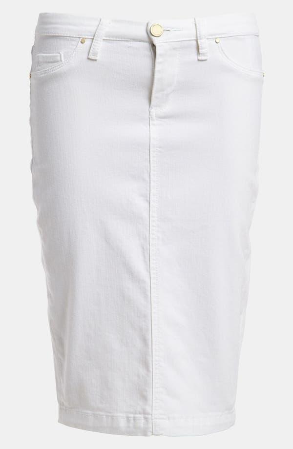 Main Image - BLANKNYC 'The Faithful' Denim Pencil Skirt