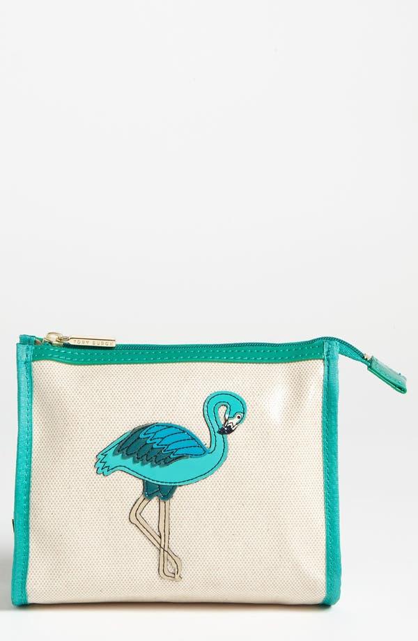 Alternate Image 1 Selected - Tory Burch 'Flamingo - Taryn' Cosmetics Case