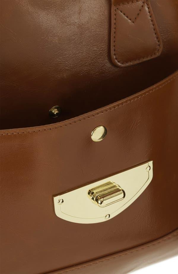 Alternate Image 4  - Topshop 'Clean Bowling Bag' Satchel