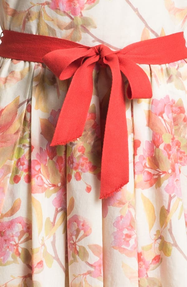 Alternate Image 3  - Taylor Dresses Floral Print Fit & Flare Dress
