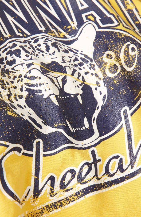 Alternate Image 3  - Topshop 'College Cheetah' Crop Tee