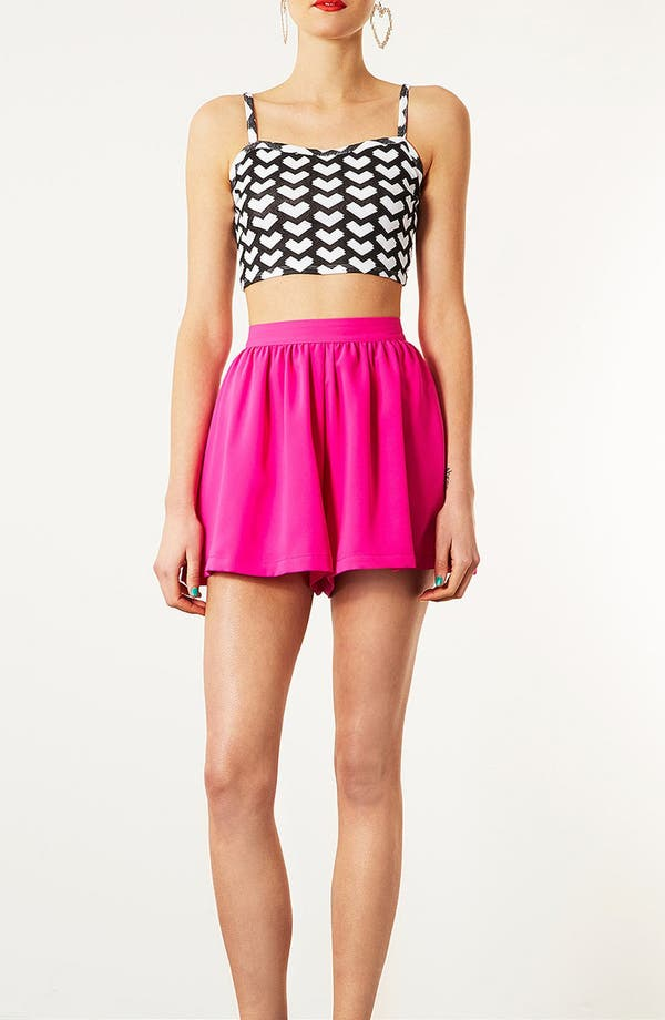 Alternate Image 4  - Topshop Geo Arrow Crop Tank