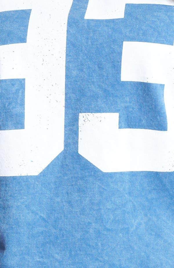 Alternate Image 3  - Painted Threads '93' Football Tee (Juniors Plus)