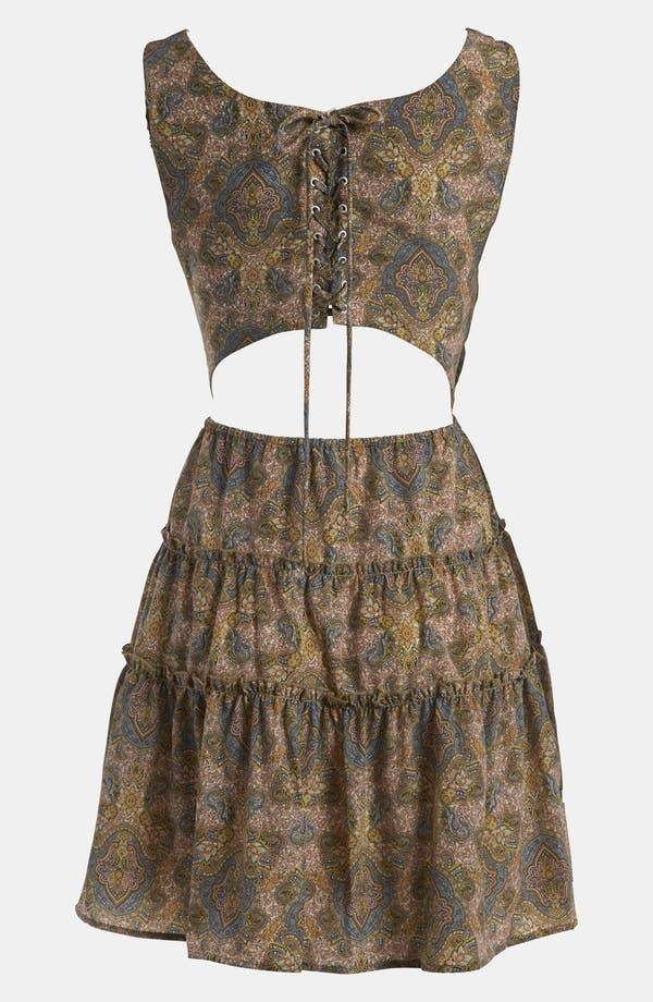 Alternate Image 2  - WAYF Tiered Skirt Dress