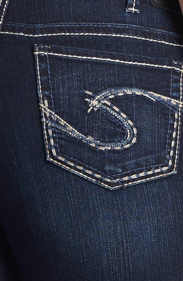 Alternate Image 3  - Silver Jeans Co. 'Suki' Denim Bermuda Shorts (Juniors Plus)