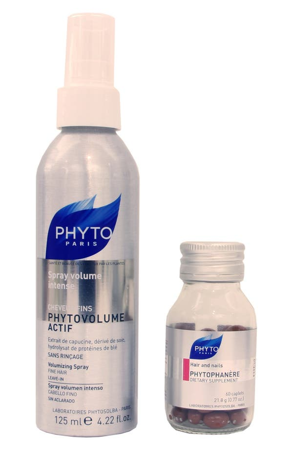 Alternate Image 1 Selected - PHYTO Phytovolume Actif & Phytophanère Set (Full Size) (Nordstrom Exclusive) ($59 Value)