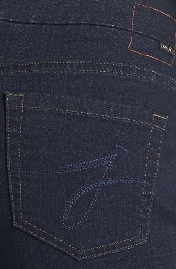 Alternate Image 3  - Jag Jeans 'Peri' Pull-On Straight Leg Jeans (Petite) (After Midnight)