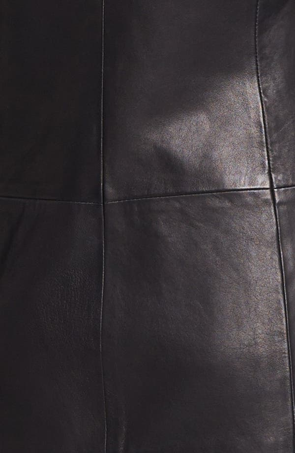 Alternate Image 4  - Theory 'Tamler R.' Open Leather Blazer