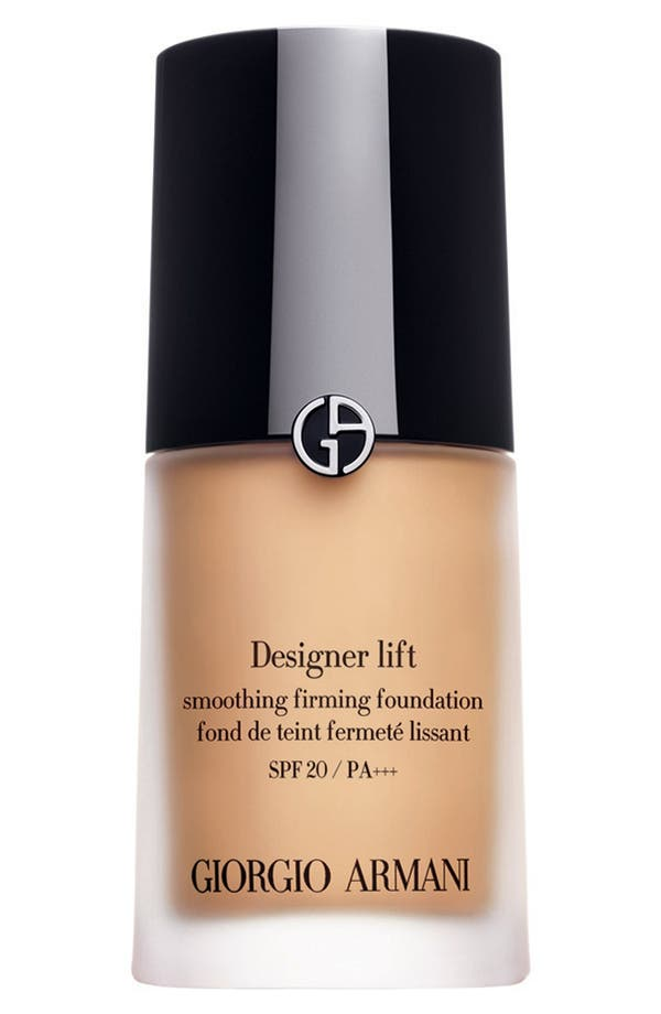 Main Image - Giorgio Armani 'Designer Lift' Smooth Firming Foundation SPF 20/PA +++