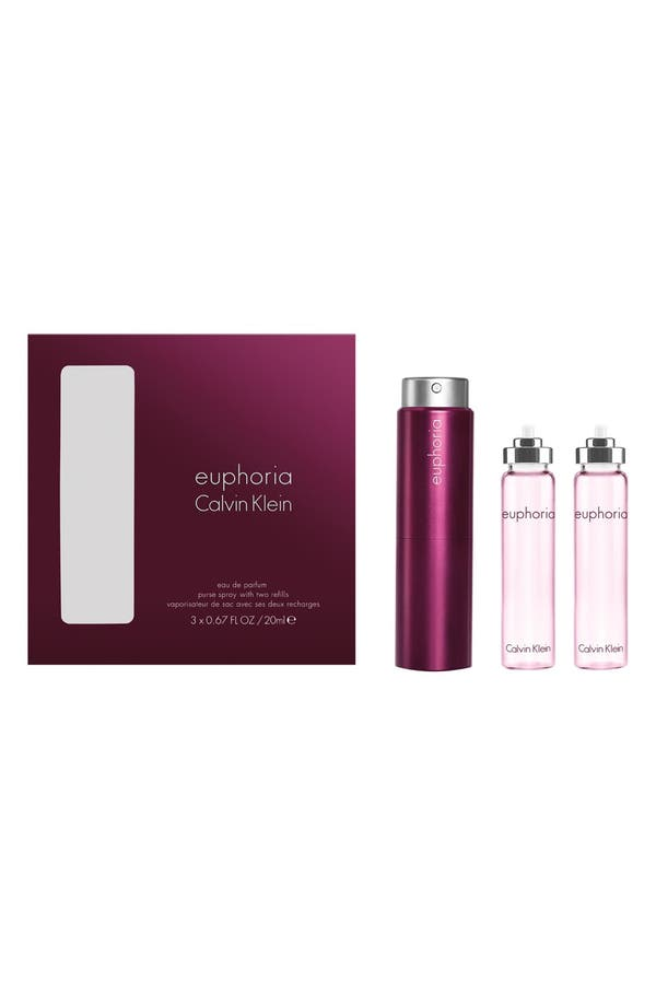 Main Image - Calvin Klein 'Euphoria' Eau de Parfum Purse Spray & Refills