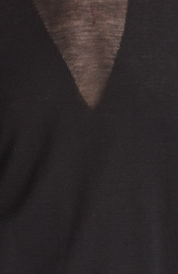 Alternate Image 3  - Burberry London Illusion Yoke Sweater