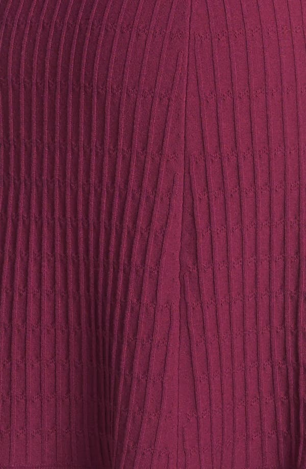 'Ashlyn' Merino Wool Blend Sweater Dress,                             Alternate thumbnail 3, color,                             Washed Red Wine