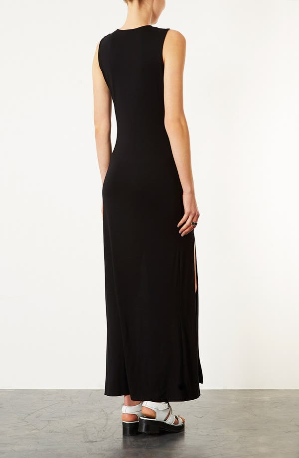 Alternate Image 2  - Topshop Double Split Maxi Dress
