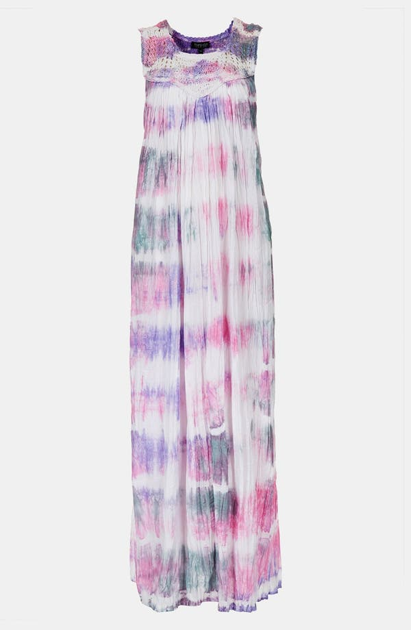 Alternate Image 3  - Topshop Tie Dye Maxi Dress