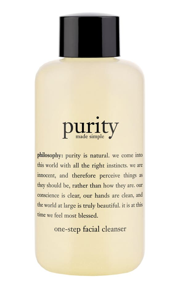 Alternate Image 1 Selected - philosophy 'purity made simple' one-step facial cleanser (Nordstrom Exclusive)