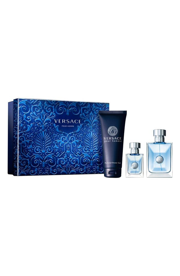Main Image - Versace pour Homme Eau de Toilette Set ($149 Value)