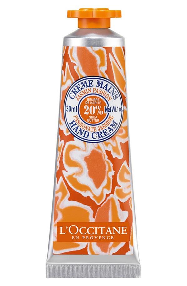 Main Image - L'Occitane 'Passionate Jasmine' Hand Cream (Limited Edition)