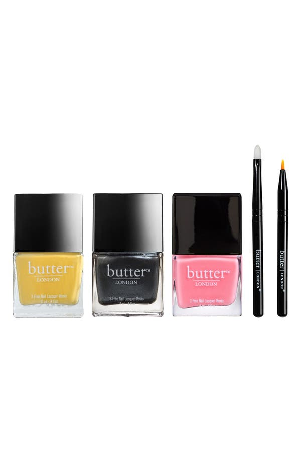 Main Image - butter LONDON 'Punk Rock Plaid' Nail Lacquer Set (Limited Edition) ($63 Value)