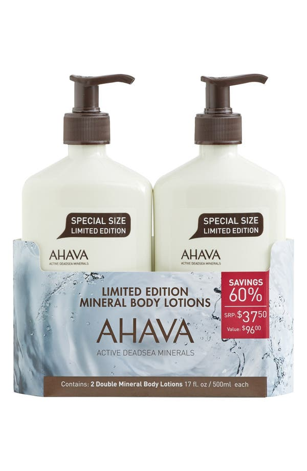 Alternate Image 2  - AHAVA Mineral Body Lotion Duo ($96 Value)