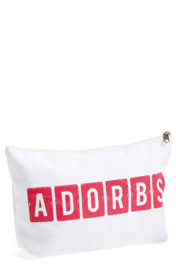 Alternate Image 1 Selected - Levtex 'Adorbs' Zip Top Accessory Bag