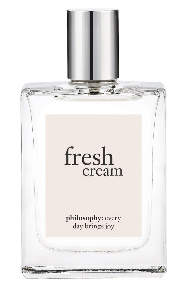 Main Image - philosophy 'fresh cream' eau de toilette