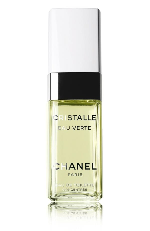 Alternate Image 1 Selected - CHANEL CRISTALLE EAU VERTE 