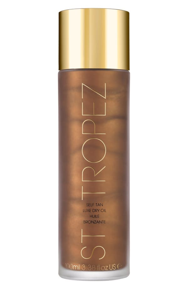 Self Tan Luxe Dry Oil,                         Main,                         color, No Color