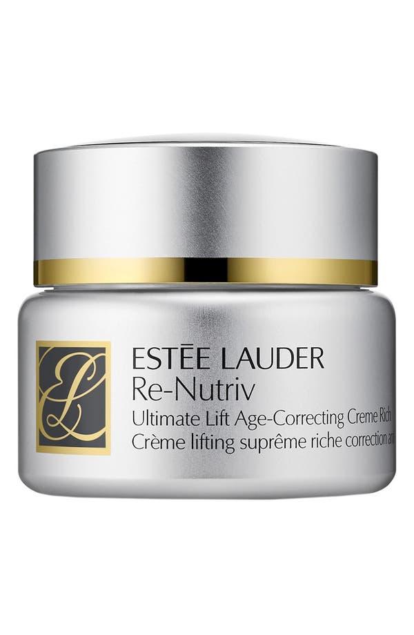 Re-Nutriv Ultimate Lift Age-Correcting Crème Rich,                         Main,                         color, No Color