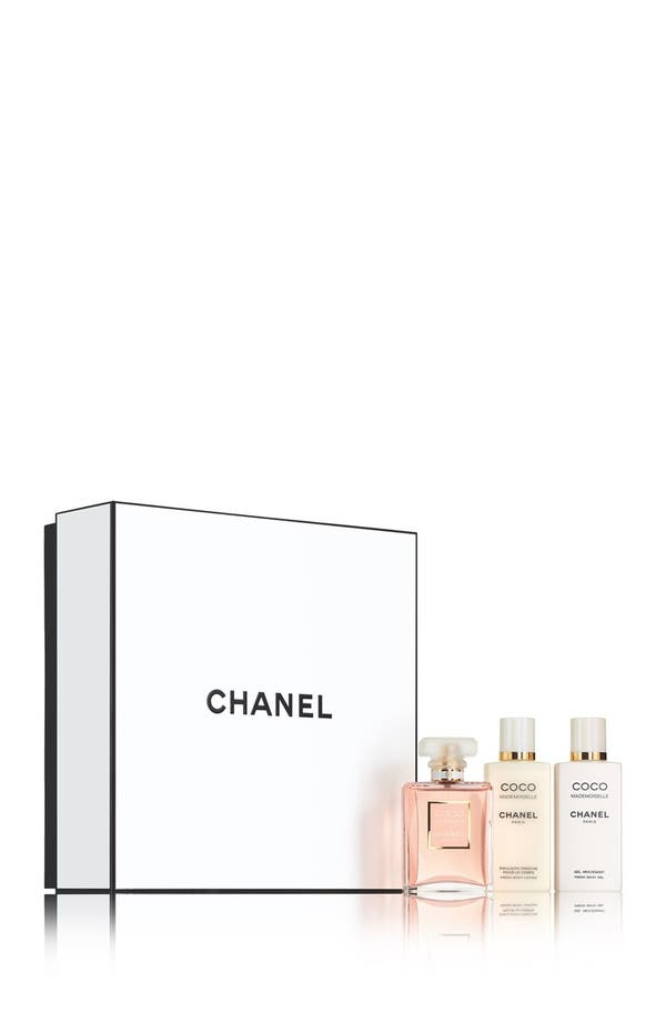 Alternate Image 1 Selected - CHANEL COCO MADEMOISELLE TRIO GIFT SET (Limited Edition)