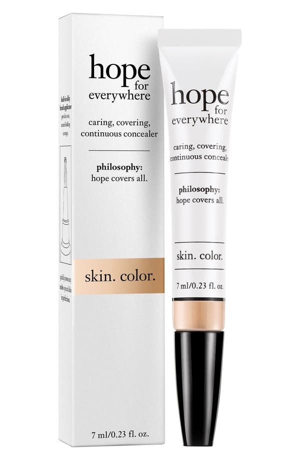 'hope for everywhere' concealer,                         Main,                         color, Shade 5.5