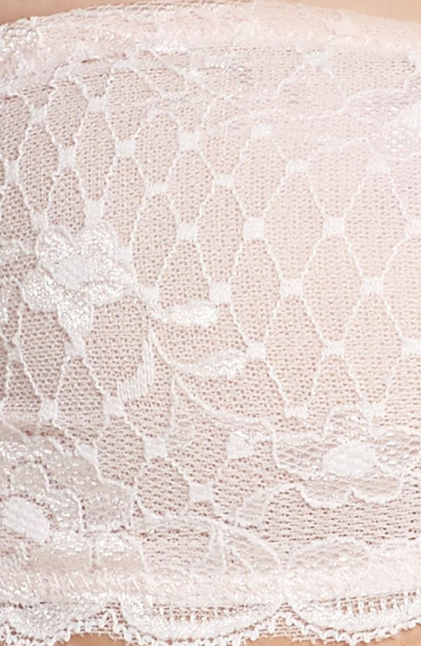 Intimately FP Lace Bandeau,                             Alternate thumbnail 4, color,                             Nude