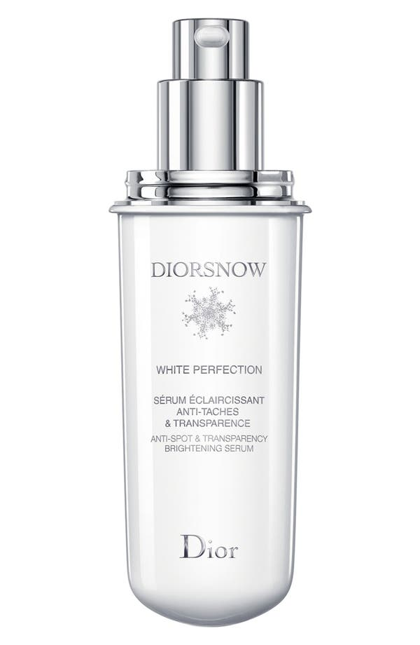 'Diorsnow' White Perfection Anti-Spot & Transparency Brightening Serum Refill,                         Main,                         color, No Color