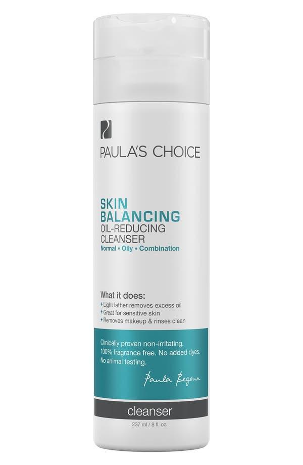 Main Image - Paula's Choice Skin Balancing Oil-Reducing Cleanser