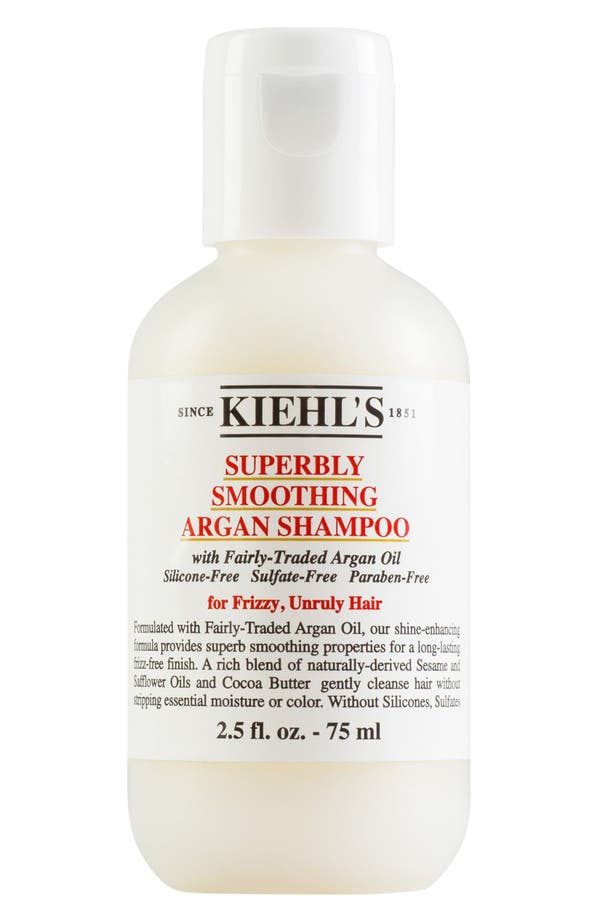 Alternate Image 2  - Kiehl's Since 1851 'Superbly Smoothing' Argan Shampoo