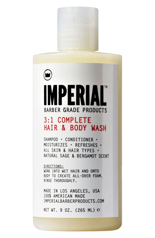 Main Image - Imperial Barber Grade Products™ '3-to-1 Complete' Shampoo, Conditioner & Body Wash