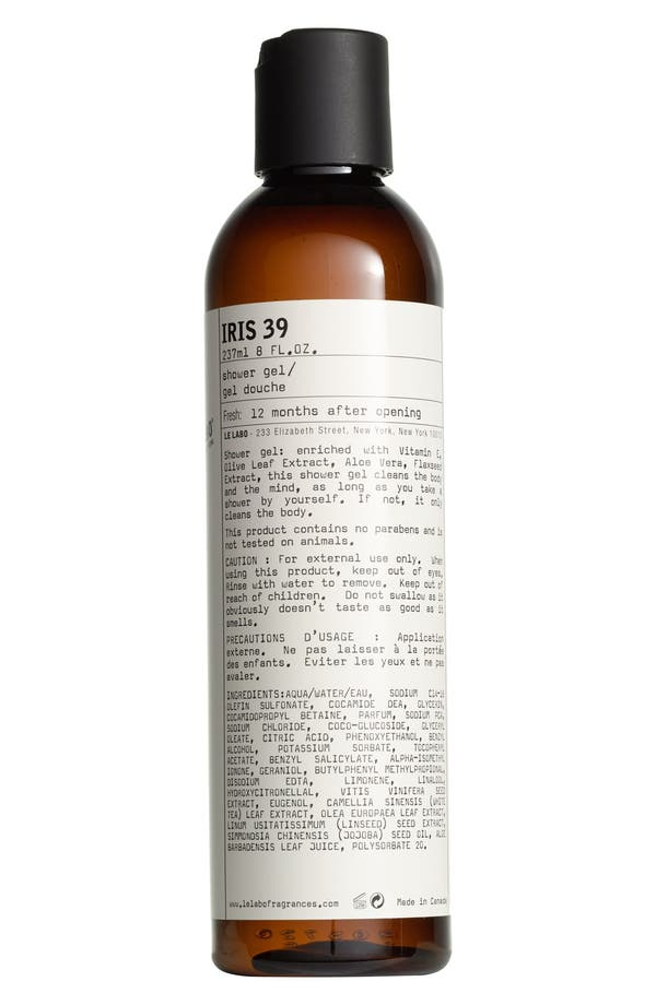 Alternate Image 1 Selected - Le Labo 'Iris 39' Shower Gel