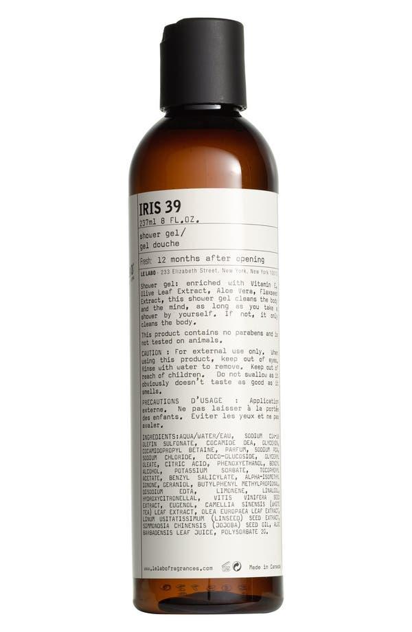 Main Image - Le Labo 'Iris 39' Shower Gel