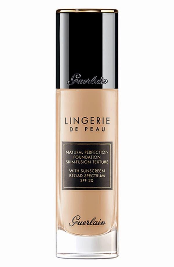 'Lingerie de Peau' Fluid Foundation,                         Main,                         color, 02W Clair Dore